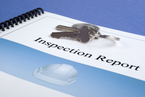 Home inspection report of Precision Inspection company.